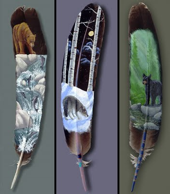 Name:  Amazing and Beautiful Hand Painted Feathers Art 6.jpg
